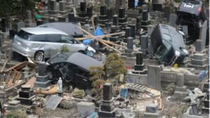 Кладбище в Японии