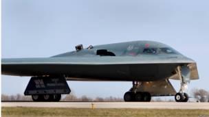 "Американский бомбардировщик B-2 ""Стелс"""