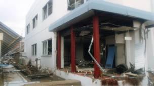 Fukushima en ruinas