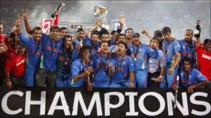 क्रिकेट विश्व चैंपियन भारतीय टीम