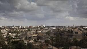مدينة مصراتة الليبية