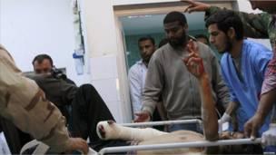 قتلى وجرحى بين صفوف المعارضة في قصف للناتو