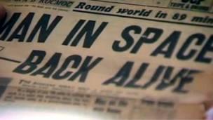 Гагарин в британской прессе