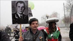 "Участники парада ""Арт-шествие"""