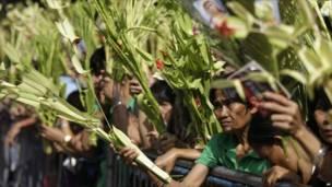 احتفالات في العاصمة الفلبينية مانيلا