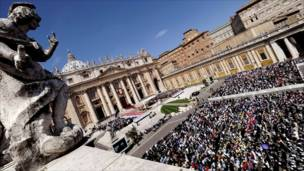 صلاة في الفاتيكان