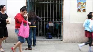 Начальная школа в Гаване (фото и текст Анны Висенс)
