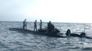 Semisumergible abordado por agentes de EE.UU. a 500 millas de la costa de Colombia en 2006