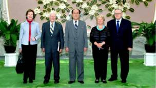 کارتر در کره شمالی