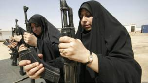 Женщины полицейские в Ираке