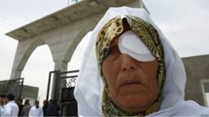 Палестинцы Газы протестуют