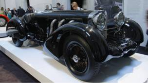 Выставка автомобилей Ралфа Лорена