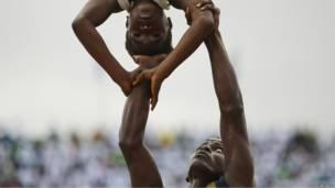 Акробаты из Гвинеи