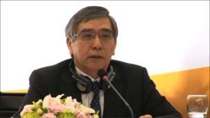 Chủ tịch ADB Haruhiko Kuroda