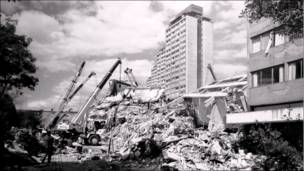Unidad habitacional Tlatelolco. Bob Schalkwijk, 1985
