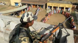 В Западной Бенгалии проходят выборы