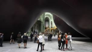 В Париже открылась выставка Аниша Капура