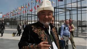 Киргизский делегат на стамбульской кенференции