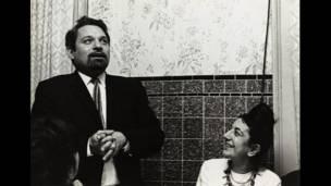Pablo Armando Fernández e Ida Kar