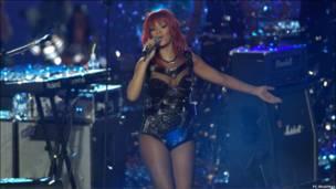 Володарка двох «Греммі», поп-зірка Ріанна.