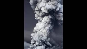 núi lửa Grimsvotn phun