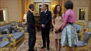 奥巴马夫妇与威廉王子夫妇