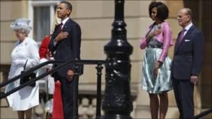 Hotuna: Ziyarar shugaba Obama a Burtaniya