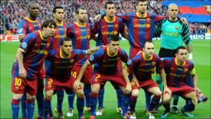 Команда Барселони
