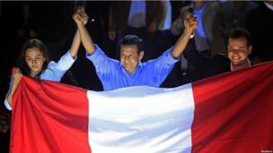 Humala se declara ganador