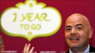 Рік!!!! Лишився один рік до Євро 2012! - так радісно і так тривожно спиймається це нагадування від генсекретаря УЄФА Джанні Інфантіно.