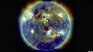 Foto del Observatorio Dinámico Solar