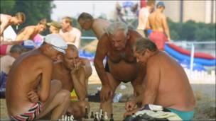 Український варіант пляжного мозкового штурму.