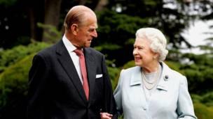 女王与爱丁堡公爵