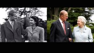 女王和爱丁堡公爵