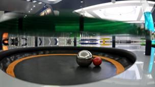 Один из залов московского планетария