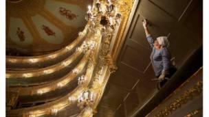 انتهاء عملية ترميم المسرح البلشفي