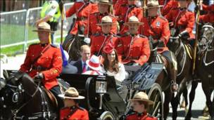 Ziyarar Yarima William da Kate zuwa Canada