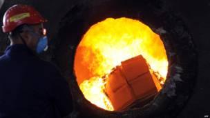 Сожжение наркотиков в Черногории