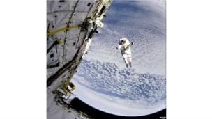 Ônibus espacial Discovery (fotos: Nasa)