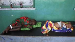 Голод через посуху в Африці