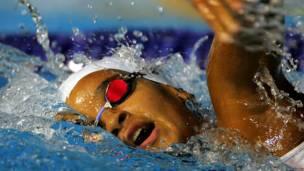 ANDREINA PINTO – País: Venezuela – Deporte: Natación (1.500 m.)