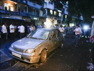 धमाके की तस्वीरें