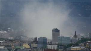 Телекадри вибуху в Осло 22 липня