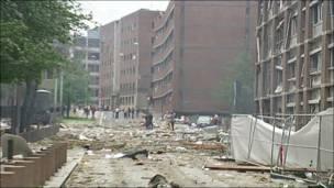 Телекадри наслідків вибуху в Осло 22 липня