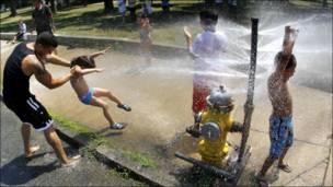 गर्मी  की मार