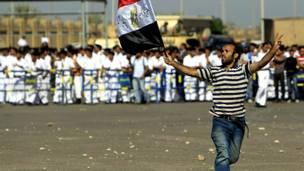 Противник Мубарака