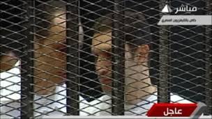 Hotuna: Shari'ar Hosni Mubarak