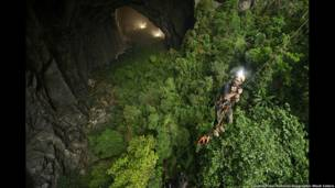 Cueva Hang Son Doong, en Vietnam (Foto: Carsten Peter/National Geographic Stock/Caters)