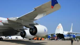 A380 и Ан-124