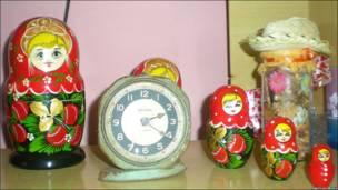 Російський символ матрьошка була типовим декоративним елементом у кубинських домах